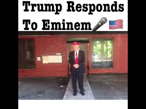 Trump Responds To Eminem Parody