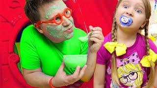 Милли и Ева и их забавные истории и игры для детей