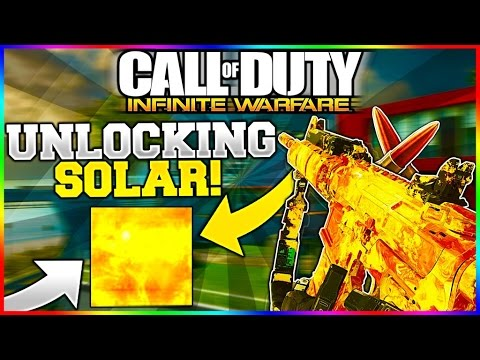 Infinite Warfare - HOW TO UNLOCK SOLAR CAMO FAST and EASY!