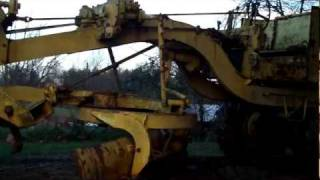 Heavy equipment, Adams motor grader walk around.