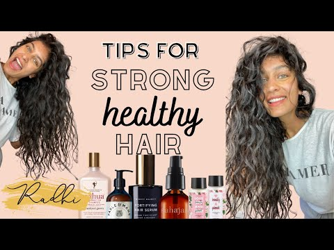 Hair Care Tips - FOR HEALTHY STRONG HAIR + FASTER HAIR GROWTH - YouTube