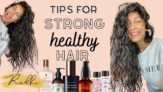 Hair Care Tips - FOR HEALTHY STRONG HAIR + FASTER HAIR GROWTH