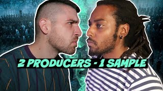 2 Producers Flip The Same Sample (Game Of Thrones Edition)