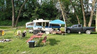 Pop up camper modifications