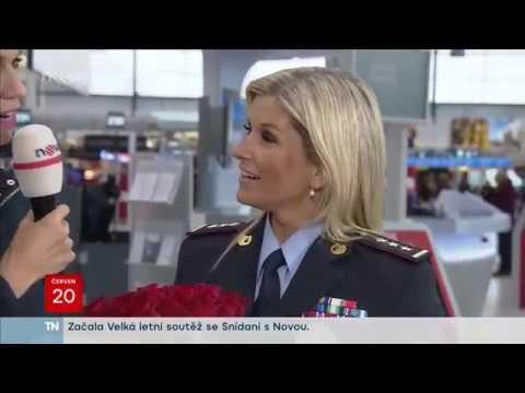 Policie ČR: Snídaně S Novou - Letiště Václava Havla