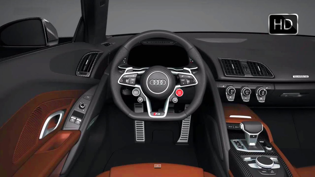 2017 Audi R8 V10 Plus Interior Design Hd Youtube