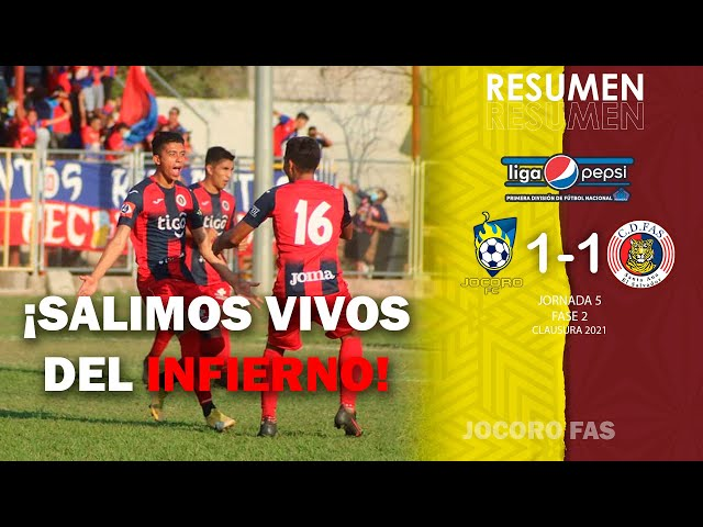 ¡Salimos vivos del INFIERNO! Jocoro 1-1 FAS   Jornada 5 - Fase 2   Clausura 2021