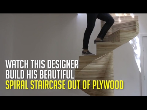how to build a spiral staircase youtube