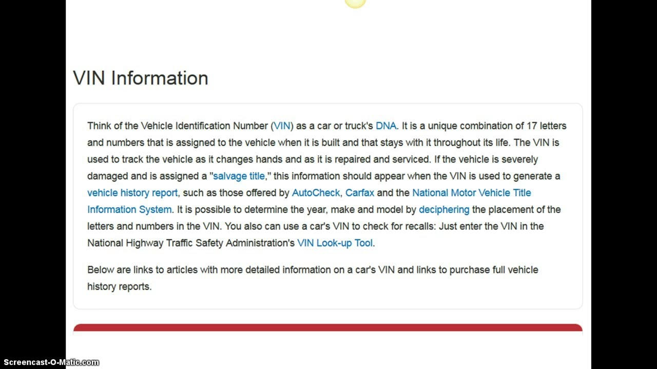 Vehicle Value By Vin >> Car Value By Vin Youtube
