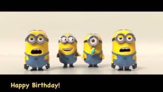 Minions Happy Birthday Song Youtube