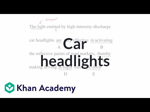 22 Car headlights