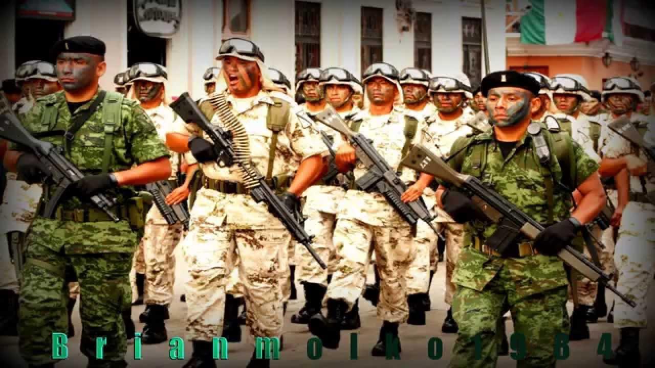 100% Militares Y Marinos Mexicanos