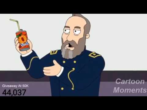 American Dad - James Garfield Loves Orange Soda