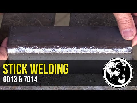 Learning To Weld With 6013 And 7014 Electrodes