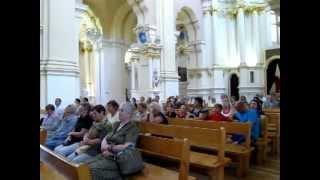 Полоцк (Белоруссия). Софийский собор. 20.06.2012.(Софийский собор в Полоцке - музей. Однако по большим православным праздникам в нём совершаются богослужени..., 2012-06-26T21:24:16.000Z)