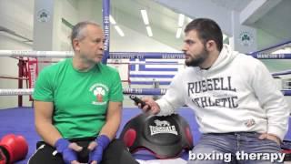 Repeat youtube video Boxing Therapy 5 - Γιάννης Αϊδινιώτης σε γλώσσα αυθεντική!
