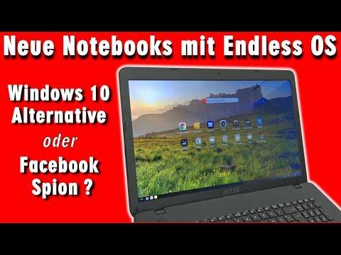 Neue Notebooks mit Endless OS - Windows 10 Alternative oder Facebook Schnüffelsoftware - [4K]