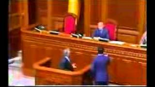 MP Petro Simonenko addressing Verkhovna Rada  May 13 2014