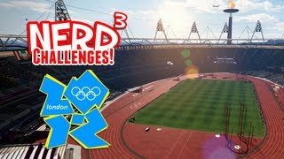 Nerd³ Challenges! Win The Olympics! London 2012 Game