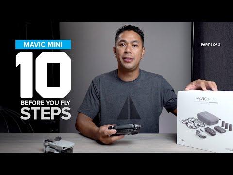 10 Before You Fly Setup Tips - Mavic Mini Beginners Setup Guide Part 1 Of 2