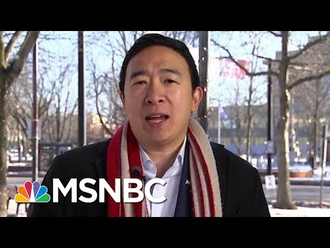 Andrew Yang Will Support A Candidate Backing A Basic Income | Morning Joe | MSNBC
