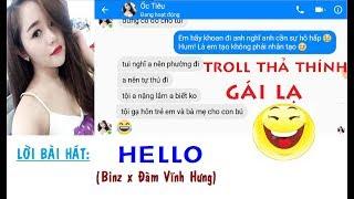 126NET Team || Troll thả thính gái lạ - HELLO | Binz x Đàm Vĩnh Hưng