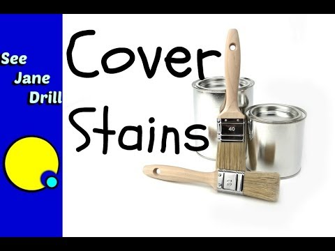 How to Paint Over Grease, Crayon, WATER STAINS, Fire and Smoke Damage