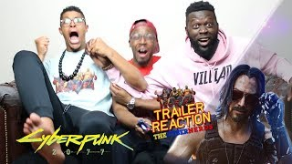Cyberpunk 2077 Official E3 Cinematic Trailer Reaction