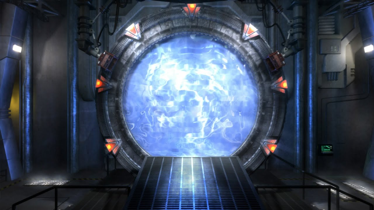 how to travel through spacetime open a stargate portal