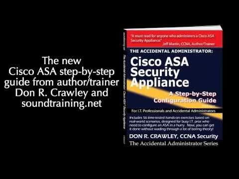 The Accidental Administrator:  Cisco ASA Security Appliance book trailer