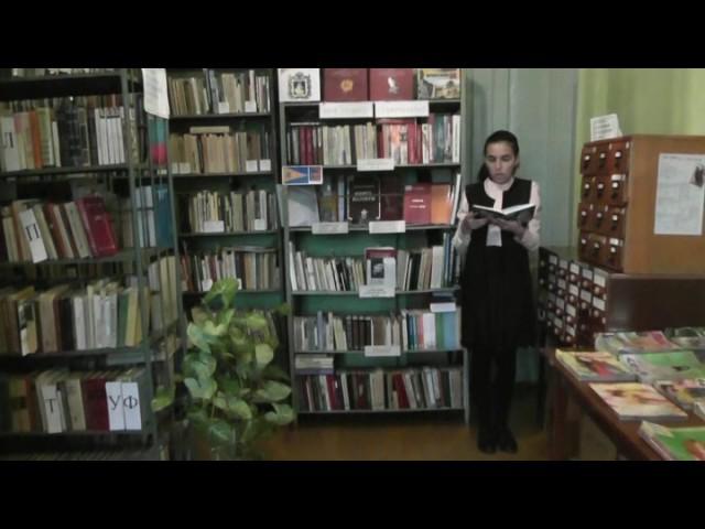 Изображение предпросмотра прочтения – КаринаБагандова читает произведение «Гуниб» И.В.Кашпурова