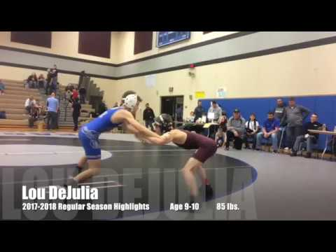 PA Youth Wrestling - Age 9-10, 85 Lbs. - Reynolds Raiders, Lou DeJulia - Highlights