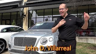 Bentley Bentayga SUV - Review and Test Drive in 4K Ultra HD - by John D. Villarreal