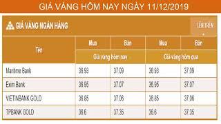 GIÁ VÀNG HÔM NAY NGÀY 11/02/2019 - Vàng SJC  - PNJ - DOJI - Vàng GOLD - vàng thế giới -vàng 9999