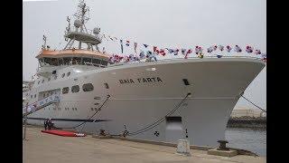 Angola lança primeiro navio de investigação