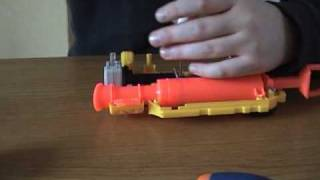 Nerf Nightfinder- Air restrictor removal- NON CUTTING