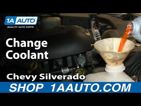 How To Change Engine Coolant 00-06 Chevy Suburban 1500