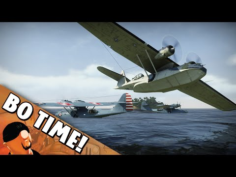 "War Thunder - PBY-5a ""Sky Whale Squad"""