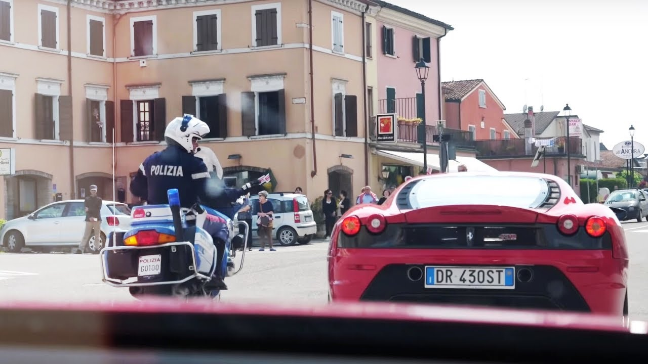 We Got Pulled Over By The Police! [Mille Miglia] [SEENTHROUGHGLASS]