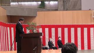 小樽商大2年ぶりの入学式 未来を思い描く新入生画像