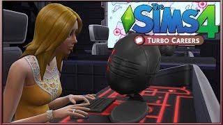 The Sims 4: Turbo Careers Mod (Part 1) - Secret Agent