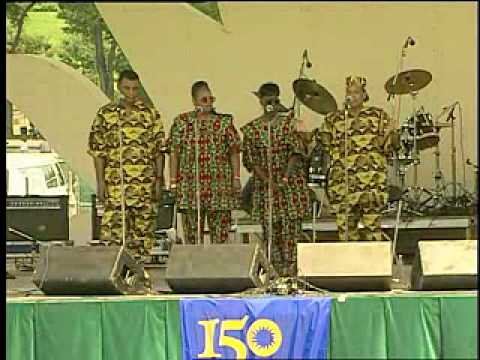 "The Freedom Singers perform ""We are Soldiers in the Army"""