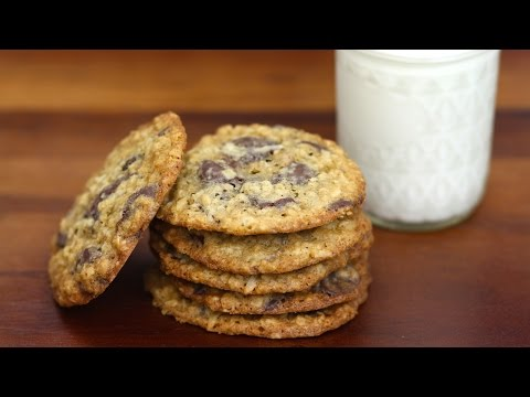 Chocolate Oatmeal Coconut Cookies - Love At First Bite - Ep 62