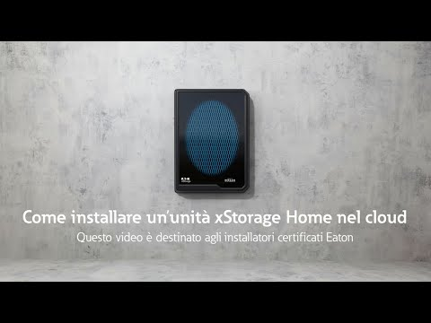 Come installare xStorage Home nel cloud