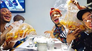 "SEAFOOD MUKBANG!!! ""DO GIRLS OR GUYS CHEAT MORE"