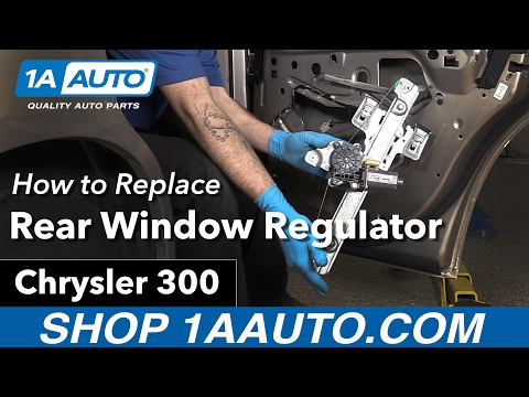 How to Replace Install Rear Window Regulator 2005-10 Chrysler 300 Buy Auto Parts at 1AAuto.com