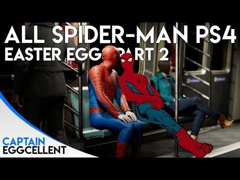 All Marvels Spider-Man PS4 Easter Eggs & Secrets - Part 2