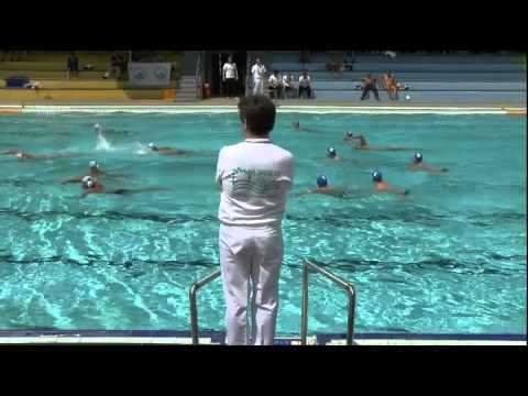 water polo Romania - Netherlands, 28.6.2013, 51th DANUBE CUP 2013, 4.Q