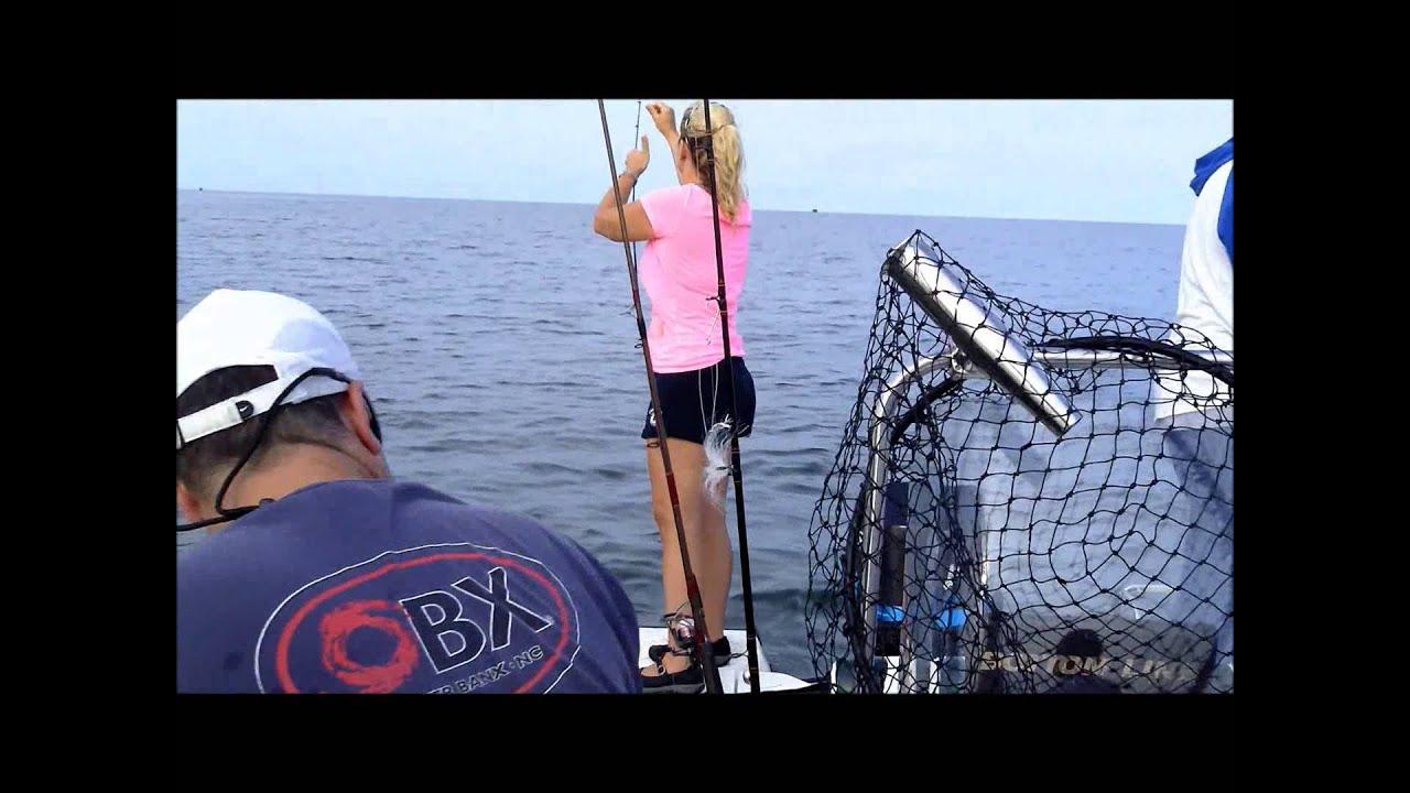 Pamlico sound fishing youtube for Sound bound fishing