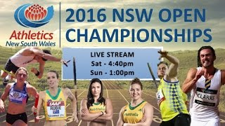 2016 NSW Open Championships - Live Stream - Sunday